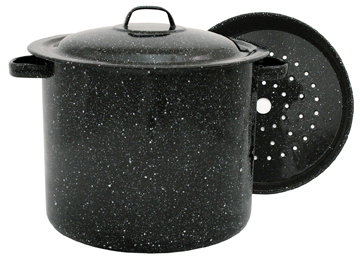 Stock Pot With Steamer Insert